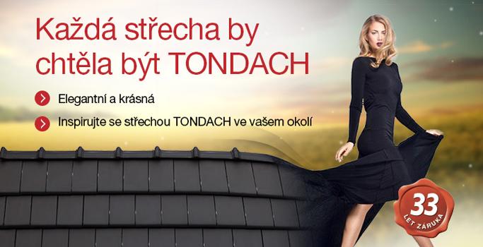 Akce na střešní tašky TONDACH - léto 2017