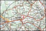 Mapka hranického okruhu