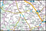Mapka jirčanského okruhu