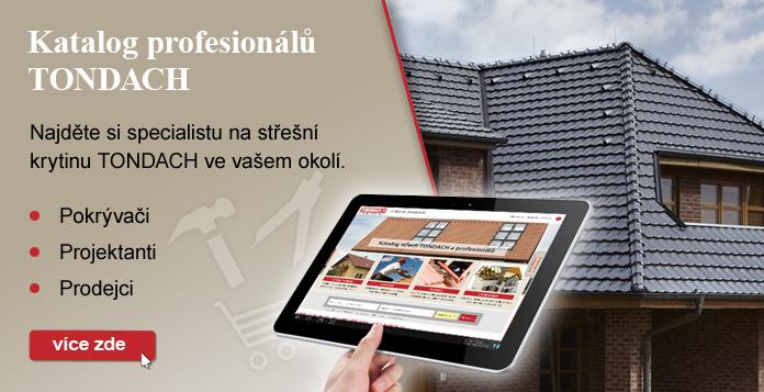 Katalog profesionálů TONDACH