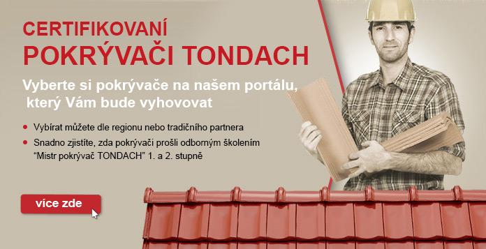 Certifikovaní pokrývači TONDACH