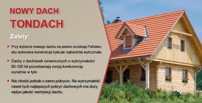 Nowy dach TONDACH