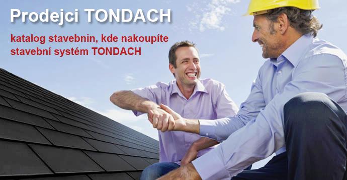 Katalog prodejců stavebního systému TONDACH
