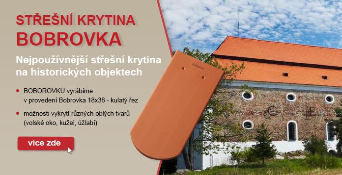 Střešní taška Bobrovka
