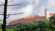 Jan Žamboch o rekonstrukci střech hradu Bítov