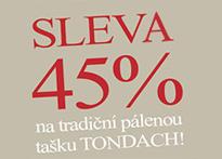 Sleva 45% na střešní tašky TONDACH