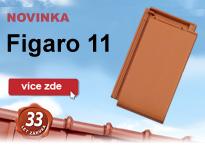 Novinka - střešní taška Figaro 11