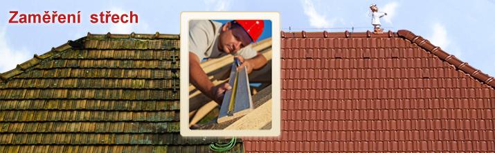 Nová služba - zaměření střechy